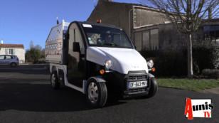 La Laigne reçoit son premier véhicule électrique