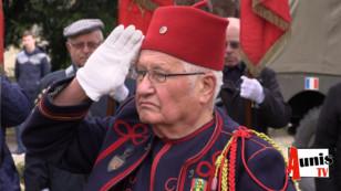 Virson. Hommage au 4ème régiment de Zouaves de Tunis