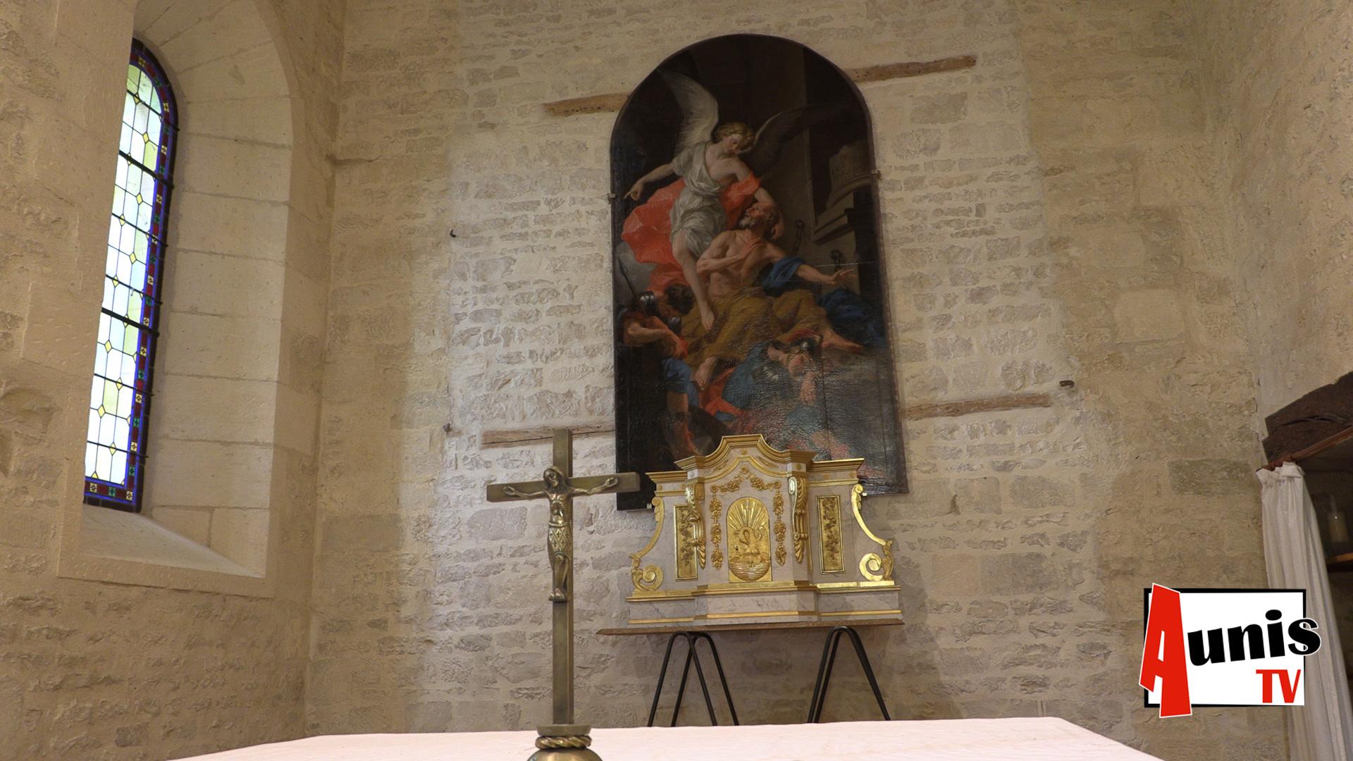 Tableau église CramChaban