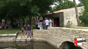 La Laigne. Le village a inauguré son lavoir rénové