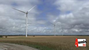 Longèves inaugure ses trois éoliennes