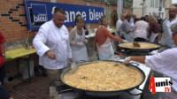 Omelette oeufs marans