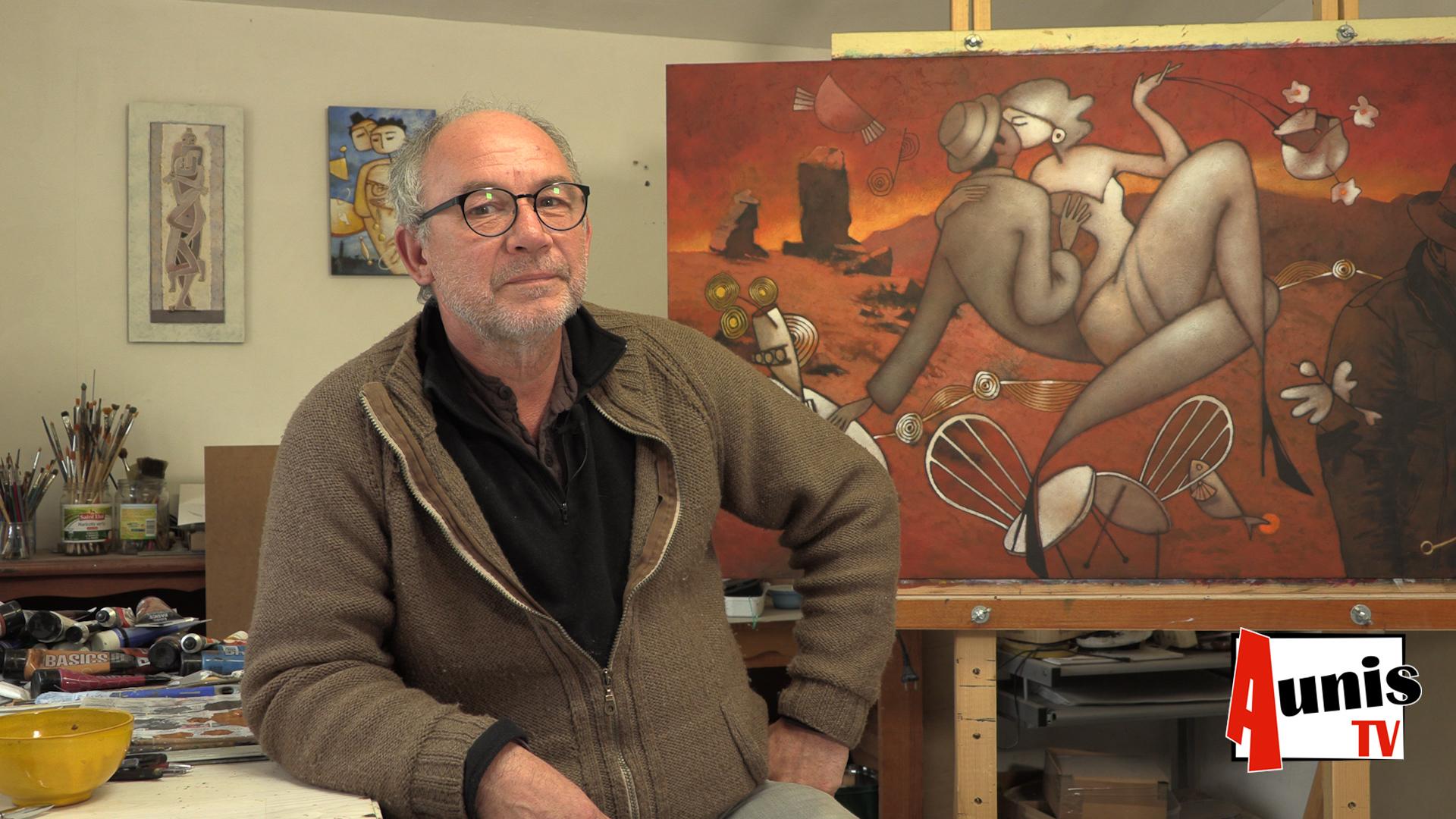 Michel Moro artiste plasticien Cram-chaban