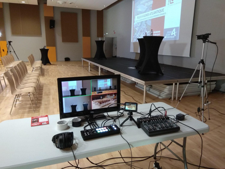 Régie vidéo mobile multi-caméras AUNISTV