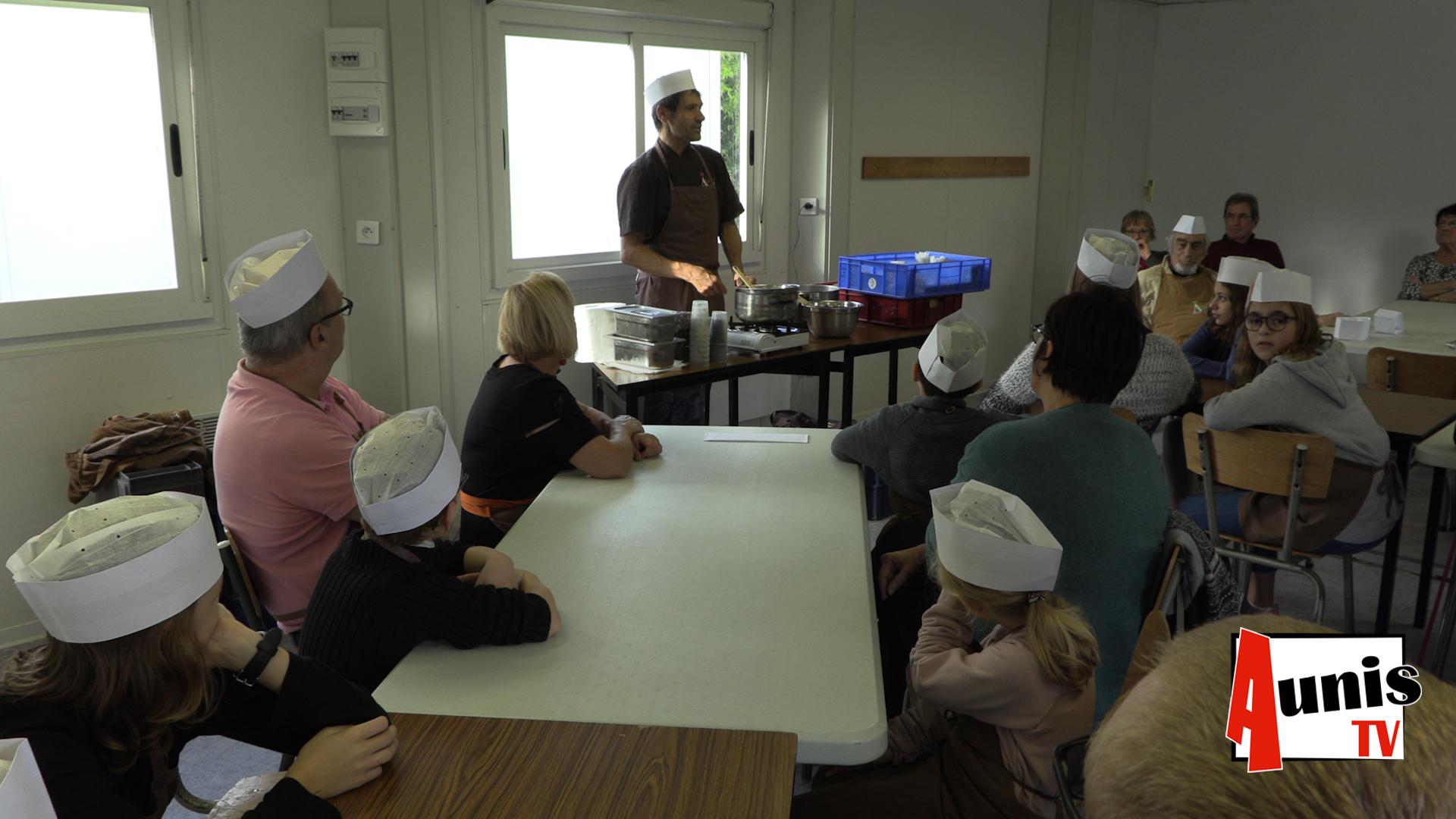 Atelier du chocolat Nuaillé d'Aunis