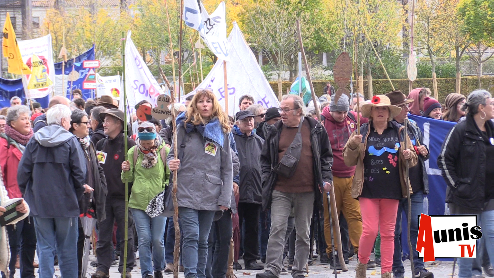 Niort manifestation anti bassines