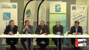 Conférence de presse : La Rochelle. Changement climatique et adaptation des marais littoraux
