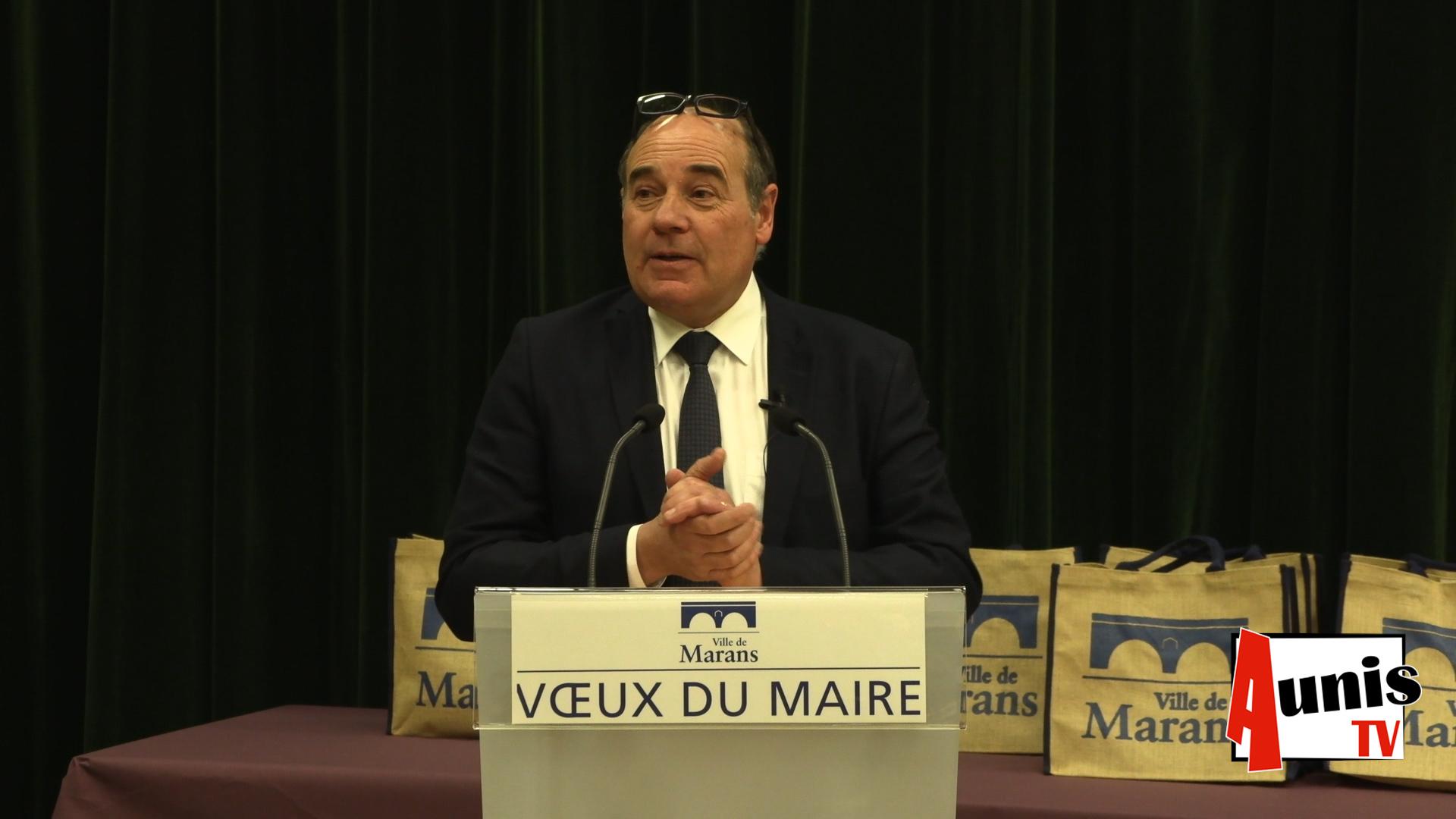 Voeux 2019 Marans Thierry Belhadj