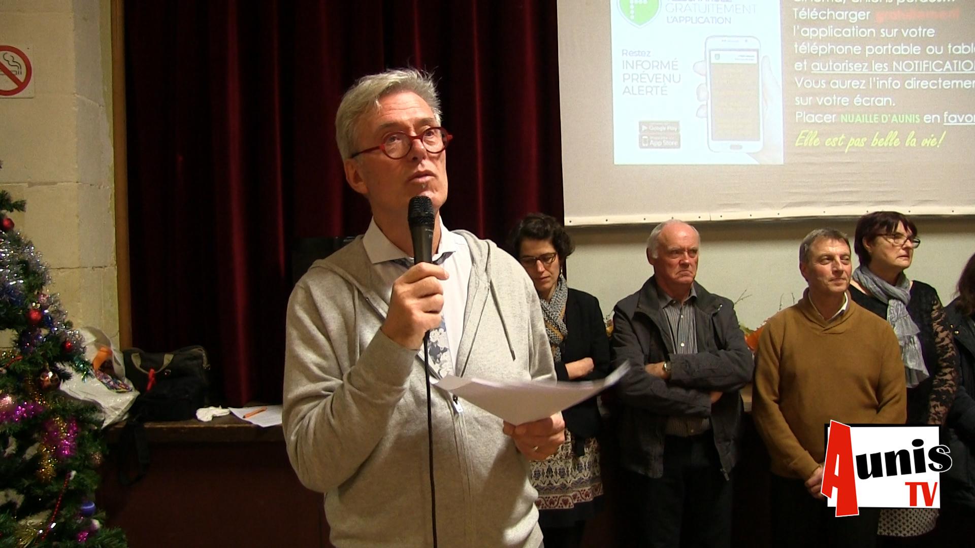Voeux 2019 Nuaillé d'Aunis Philippe Neau