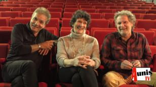 Dans les fauteuils de l'Envol : Isabelle Autissier, Pascal Ducourtioux et Jean Marc Desbois