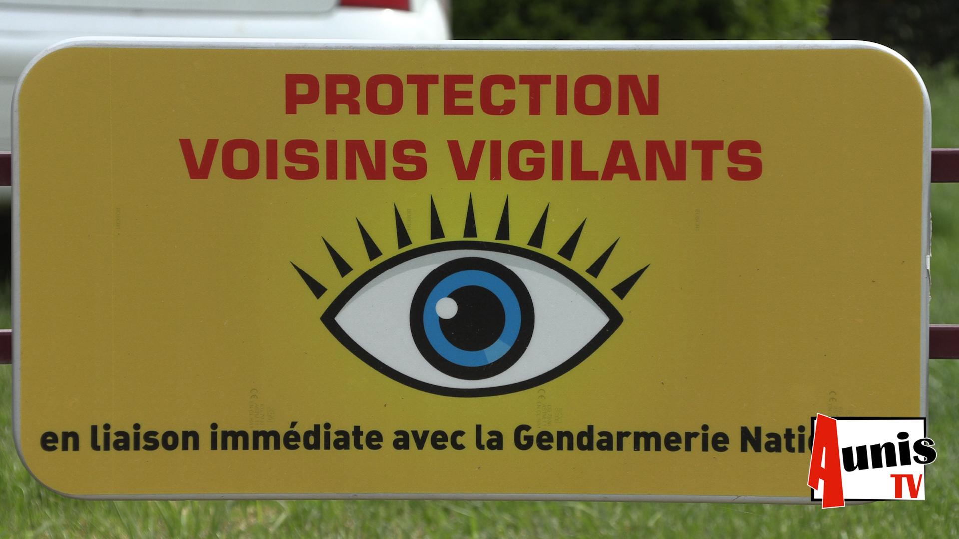 Participation citoyenne Saint Ouen d'Aunis cambriolage