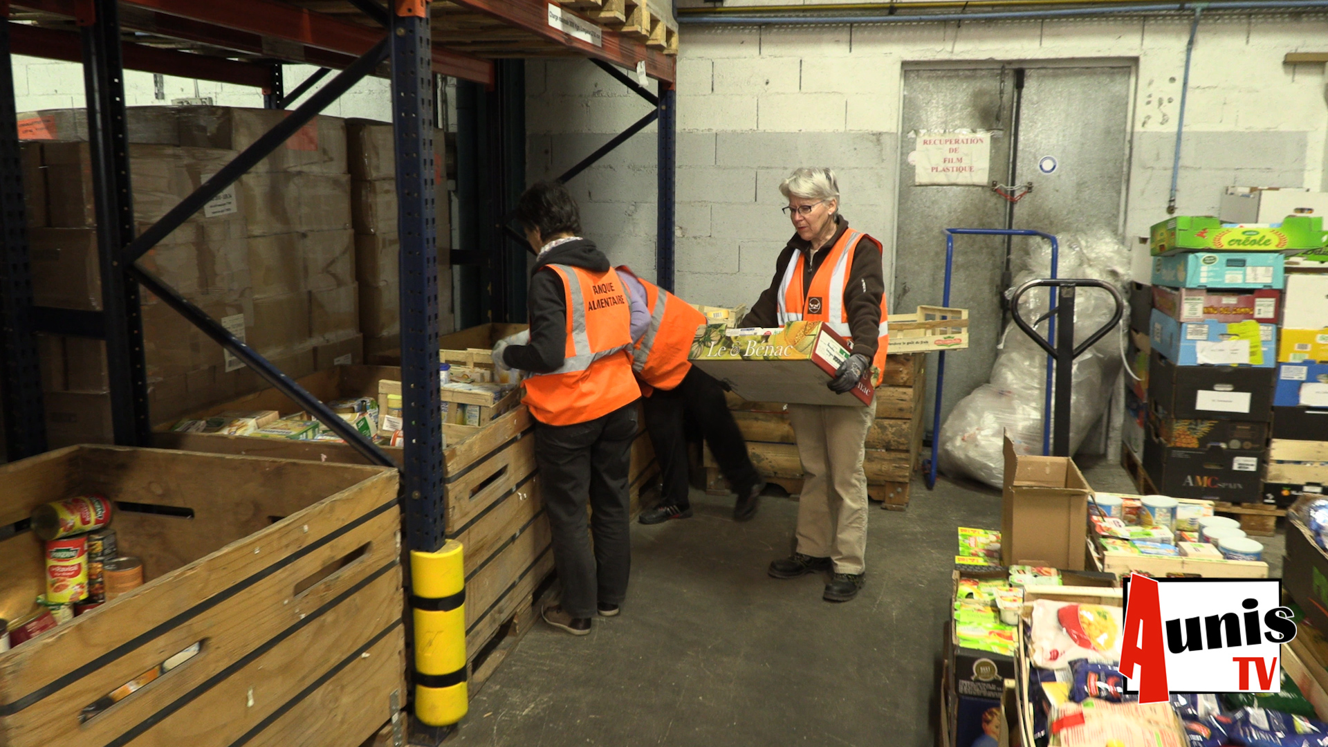 Banque alimentaire don bénévole