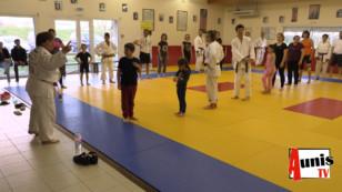 Ferrières d'Aunis. Une triple championne du monde de judo sur le tatami du club