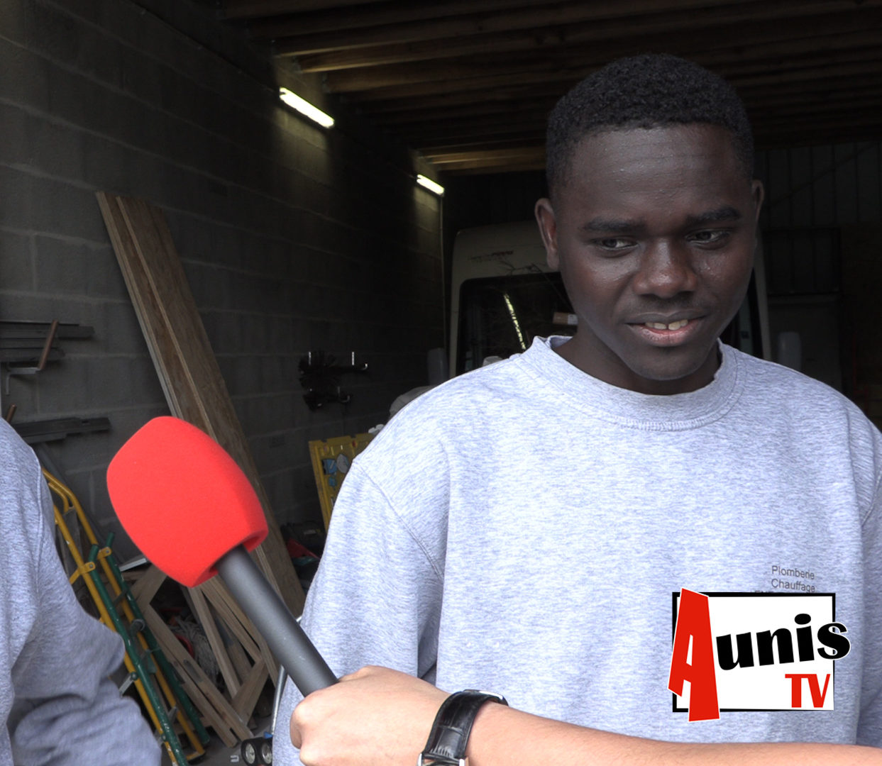 Mahadi migrant tchadien apprenti Charron