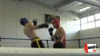Full contact kick boxing combat La Rochelle
