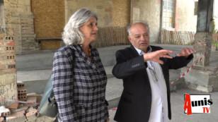 La Grève sur Mignon. Une eurodéputée en visite à La Briqueterie