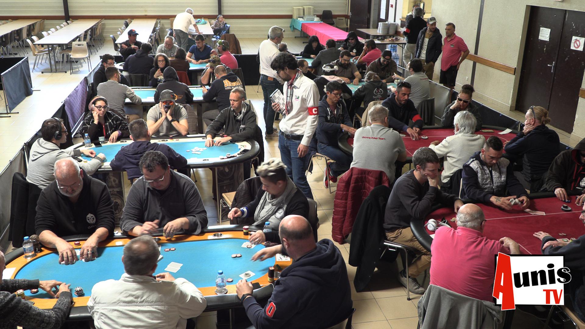 Poker Drôles du marais Courçon compétition tournoi