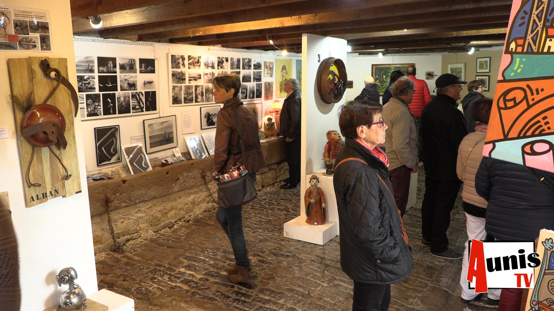 Coulon La grange artistes camille expo