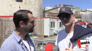 Francofolies 2019 de La Rochelle. Avec Gaëtan ROUSSEL.