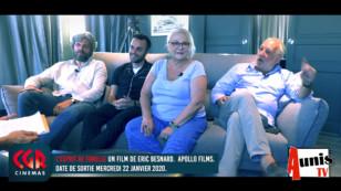 """CGR Cinémas Dragon. Interview avec Josiane Balasko et François Berléand pour le film """"L'esprit de famille"""""""