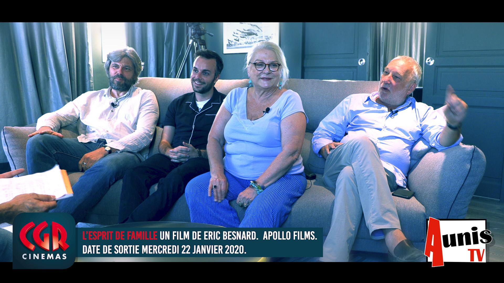 CGR cinémas Balasko Berléand film Esprit de famille