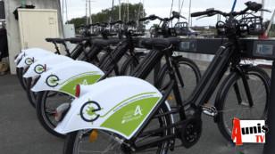 Les vélos électriques en libre service se déploient à Marans