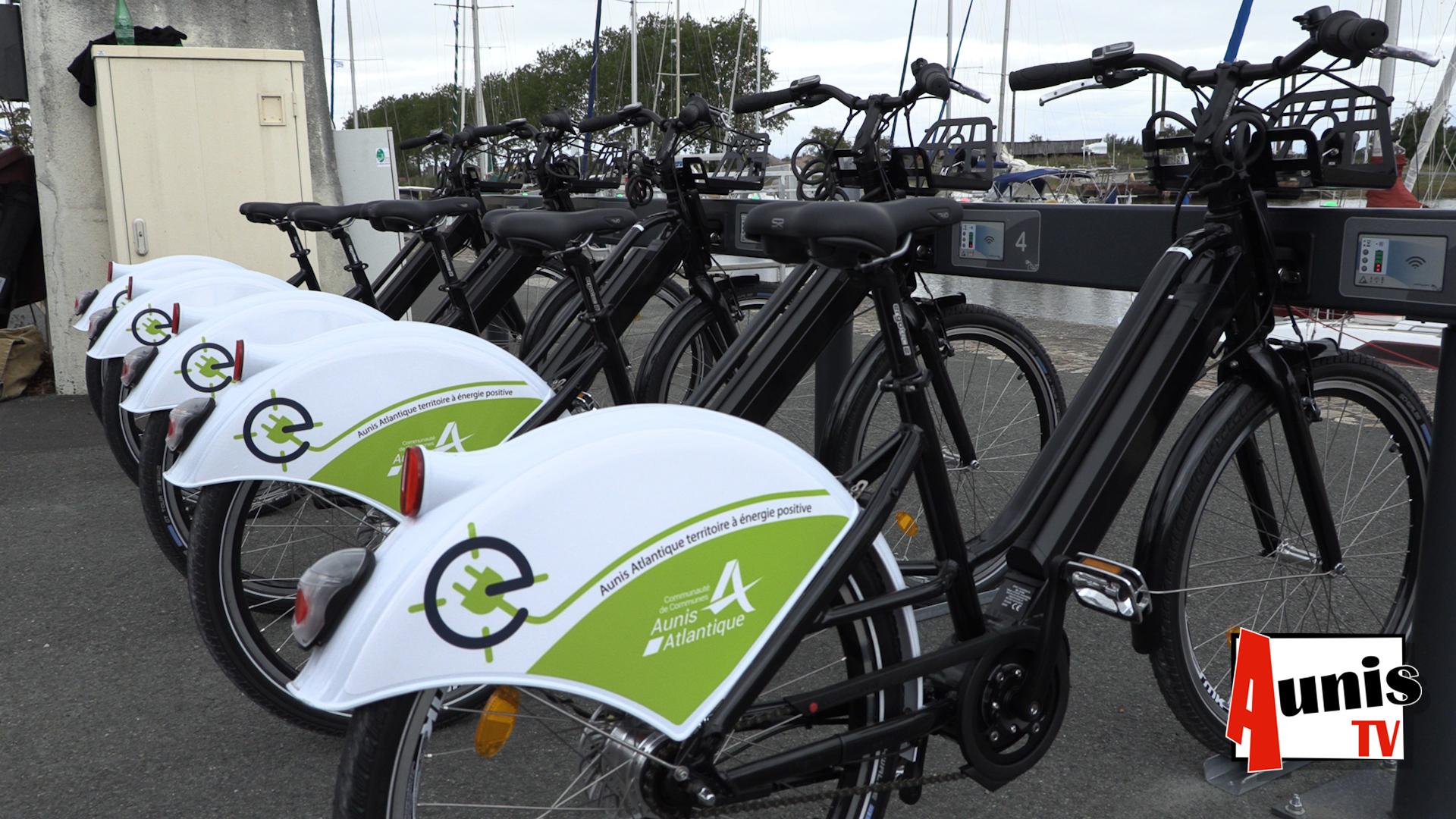 Marans vélos électriques location libre service