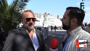 Festival de la Fiction TV de La Rochelle 2019. Avec Antoine DULÉRY, acteur, dialoguiste et scénariste.