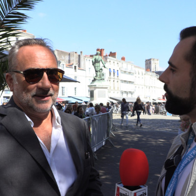 Antoine DULERY Festival Fiction TV La Rochelle 2019