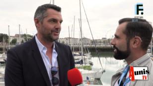 Festival de la Fiction TV de La Rochelle 2019. Avec Arnaud DUCRET, acteur et humoriste.
