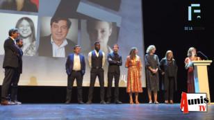 Cérémonie d'ouverture du Festival de la Fiction TV de La Rochelle 2019. Morceaux choisis.