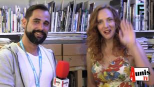 Festival de la Fiction TV de La Rochelle 2019. Avec Géraldine NALIATO, actrice et scénariste.