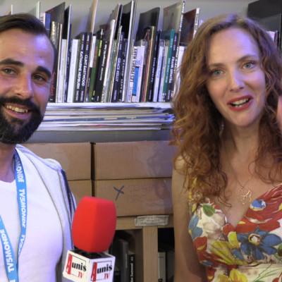 Géraldine Naliato comédienne Festival fiction TV La Rochelle 2019