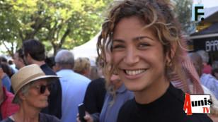 Festival de la Fiction TV de La Rochelle 2019. Avec Manon AZEM, actrice.