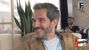 Festival de la Fiction TV de La Rochelle 2019. Avec Mathéo CAPELLI, acteur, réalisateur et membre de l'AAFA