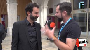 Festival de la Fiction TV de La Rochelle 2019. Avec Mathieu MADÉNIAN, comédien et humoriste.