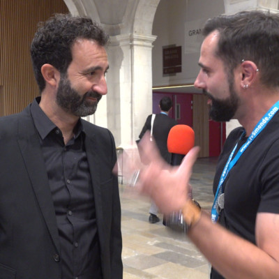 Mathieu MADENIAN Festival Fiction TV La Rochelle 2019