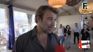 Festival de la Fiction TV de La Rochelle 2019. Avec Nicolas & Co de la série Les Mystères de l'Amour