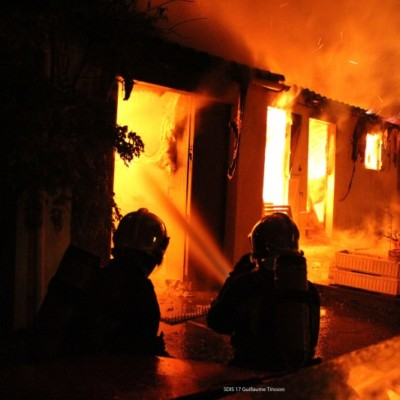 Pompiers Incendie SDIS 17 Guillaume TINSSON