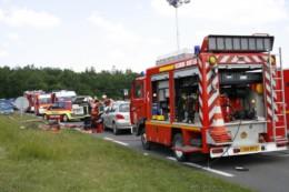 Villedoux : un motard en urgence absolue après un accident de la route