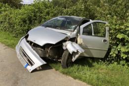 Une blessée grave dans un accident de la route à Saint Martin d'Ary