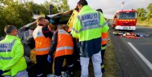 Breuil La Réorte en Charente-Maritime : un jeune passager blessé gravement dans un accident de la route