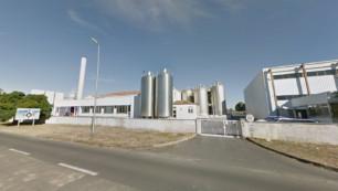 Surgères : incendie en cours dans un bâtiment d'Armor Protéines