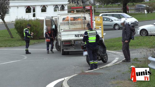 Contrôle routier renforcé sur la nationale 11 en Charente-Maritime