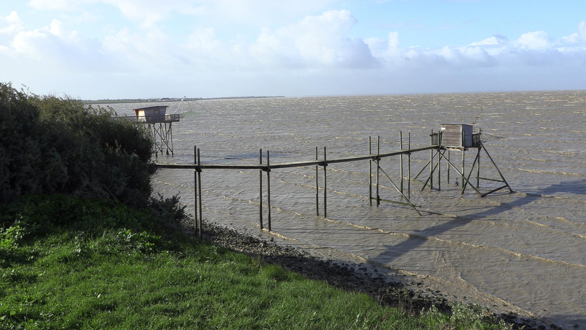 océan Charente maritime risque submersion exercice. ©Ludovic Sarrazin
