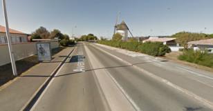 Accident de la route Nieul sur Mer AUNISTV