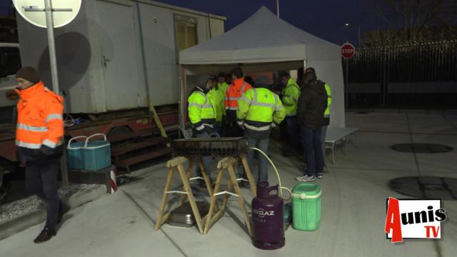 Dépôt carburant La Rochelle action blocage 03
