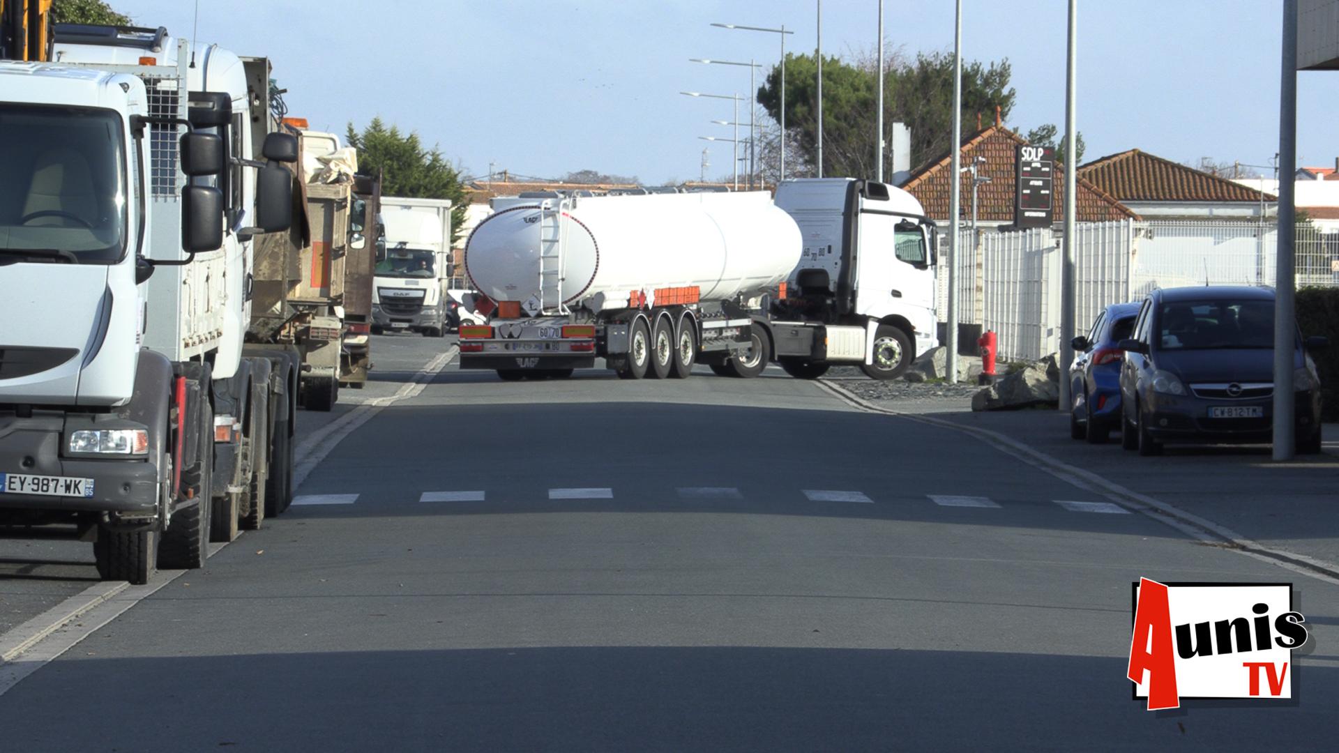 Dépôts carburant libérés GNR La Rochelle Police BTP