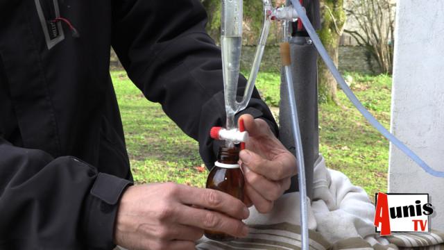 Huile essentielle distillation Mazraa