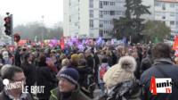 Manifestation La Rochelle le 5 décembre 2019 contre la réforme des retraites